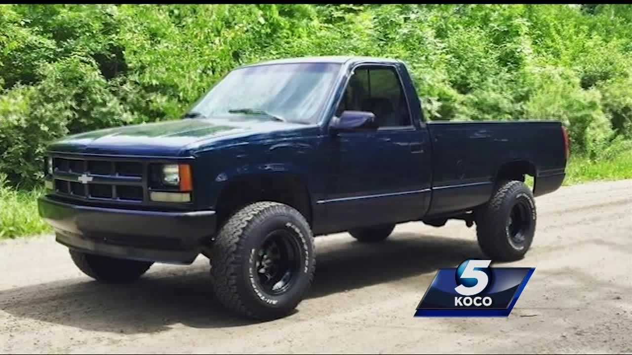 An Oklahoma airman's truck stolen was from a southwest Oklahoma City apartment complex while he's deployed overseas.