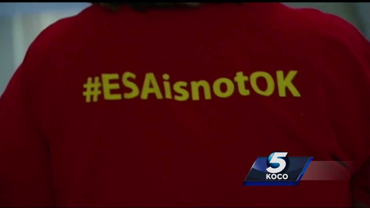Parents took their education concerns to the Oklahoma Capitol Tuesday.