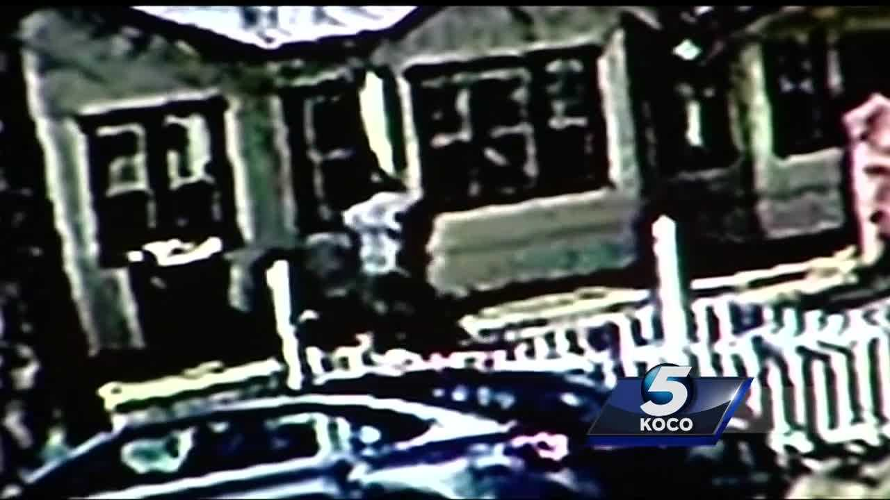 A kidnapping was caught on camera. Neighbors caught the moment when a woman is dragged out of her home. The man seen in the footage is locked up in connection with the incident.