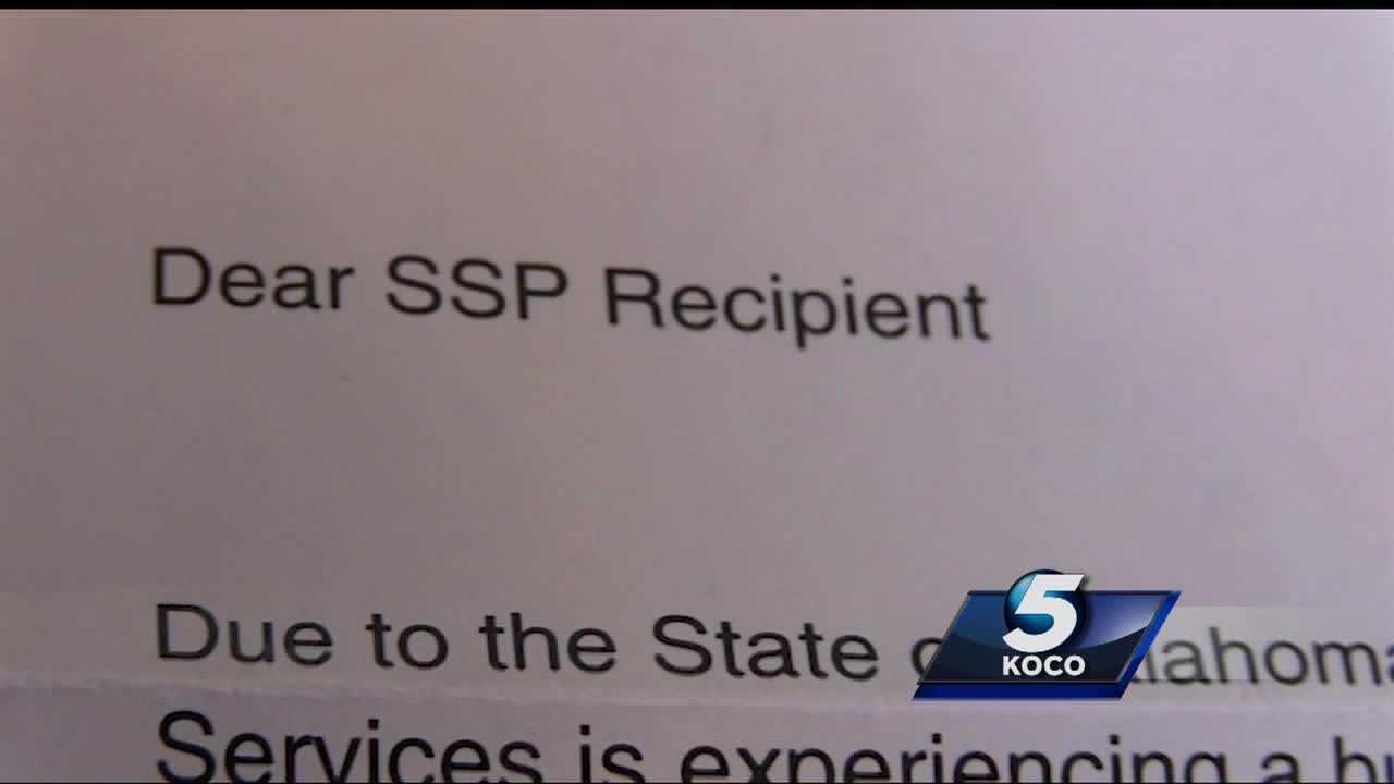 Families in Oklahoma affected by the Oklahoma Department of Human Services' spending cuts will have to wait months to receive their supplemental support paychecks. DHS is having to cut spending as a result of the state's second revenue failure.
