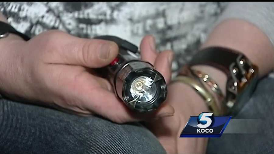 Moore man pulls stun gun on robbers using a fake gun