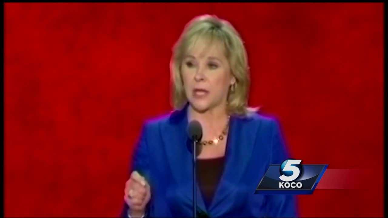 "Gov. Mary Fallin has endorsed Donald Trump. She said she supports Trump ""100 percent,"" and that should be happy to consider an offer to be his candidate for vice president."