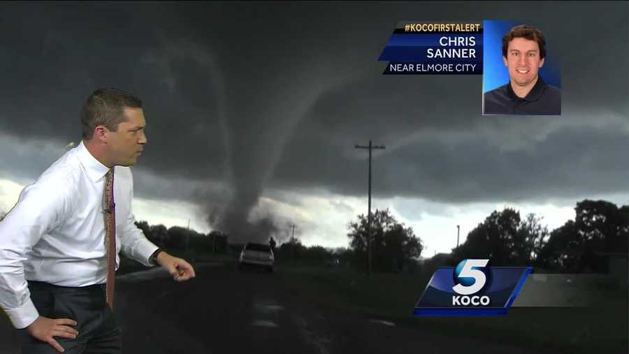 Tornadoes ripped through several parts of Oklahoma on Monday.