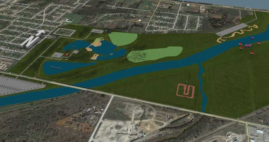 A deal has been reached for the development of an outdoor recreational complex that will be the largest in Oklahoma City.