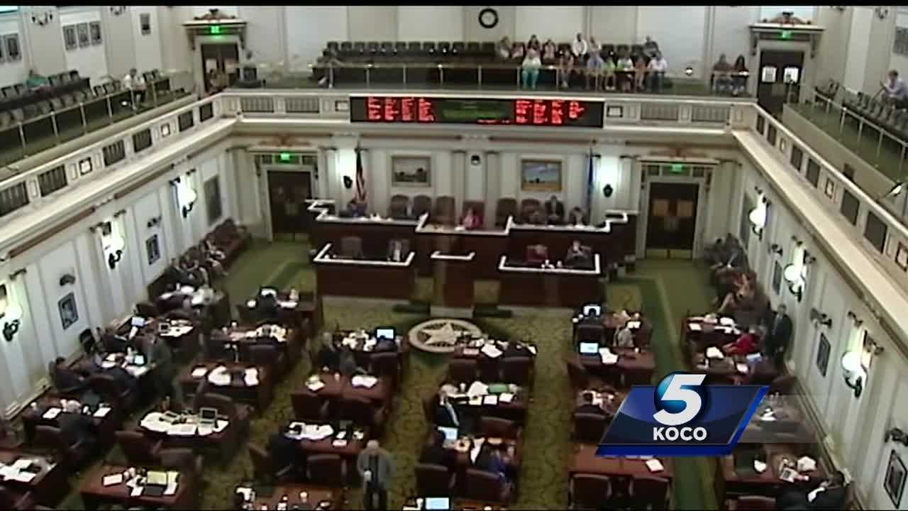 Lawmakers debated about a proposed budget bill that eventually passed the House and is on its way to be signed by Gov. Mary Fallin.