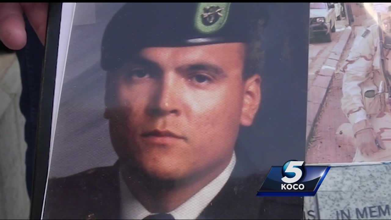 Multiple names were added to a living memorial wall in Enid to remember our fallen heroes, and one family whose son's name was added to the wall spoke with KOCO 5 News.