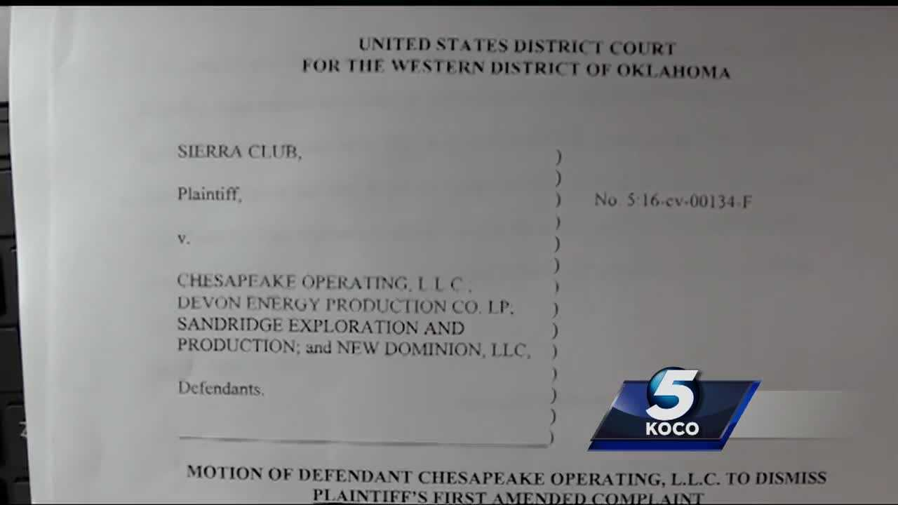 Three Oklahoma energy companies have filed for a lawsuit's dismissal after they were accused of being a primary reason for the increase of earthquakes.