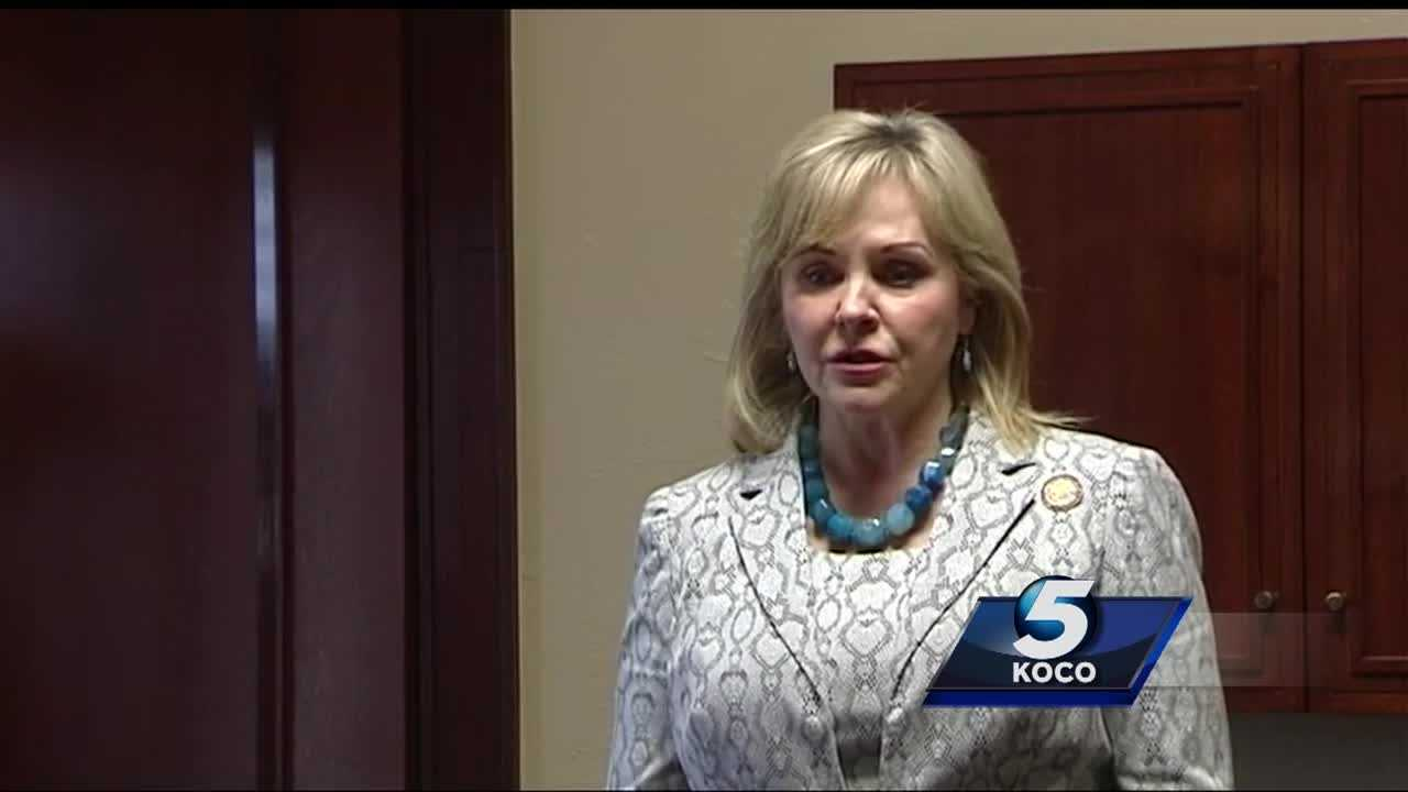 The budget still sits on Gov. Mary Fallin's desk, awaiting her approval.