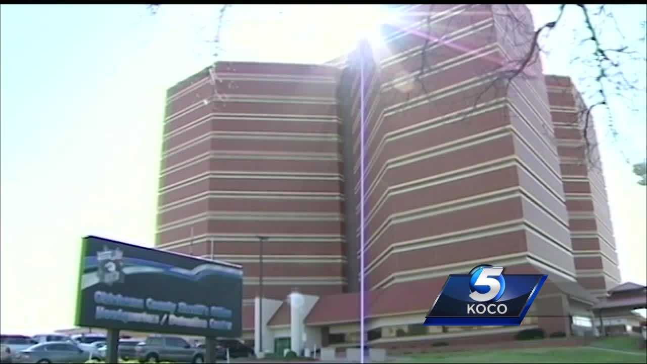A disabled inmate at the Oklahoma County Jail claims that he was denied access to the restroom for three days.