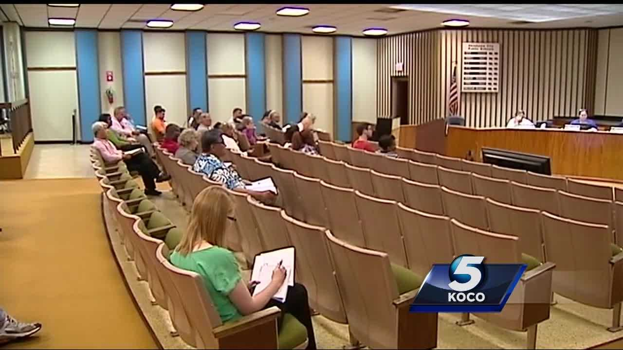An Oklahoma City school board member recently made verbal jabs at an audience members. But public and board member comments may soon be silenced.