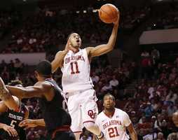 OU's Isaiah Cousins was drafted late in the second round by the Sacramento Kings.