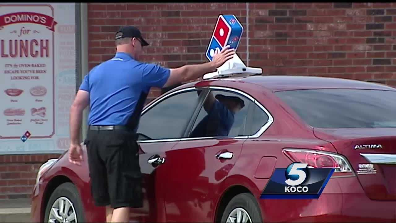 Police are looking for two men who they say robbed a metro pizza delivery man at gunpoint. The men took the pizzas but did not take the man's money.