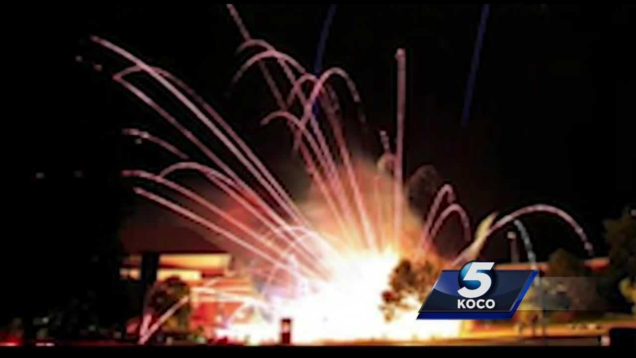 KOCO 5's Patty Santos spoke to a few of the people who were at Edmond's LibertyFest on Monday when the show was stopped because of a mishap.