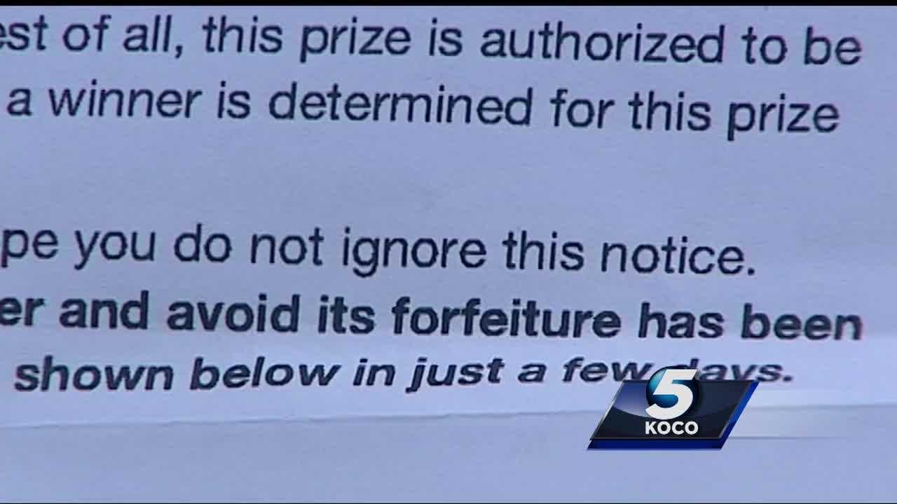 A woman was the victim of a $500 scam in which a Facebook user contacted her about winning a Publishing Clearing House prize.