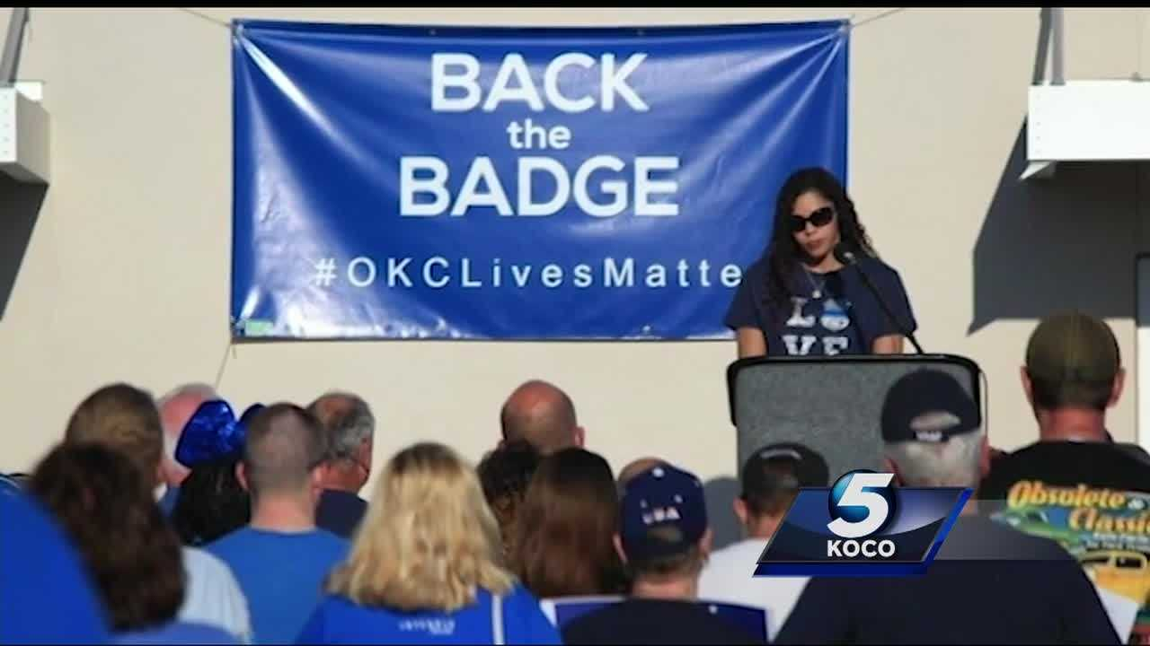 The attacks on police officers are leaving their families significantly stunned and concerned. KOCO's Crystal Price spoke with a support group that is helping the families through the trying times.