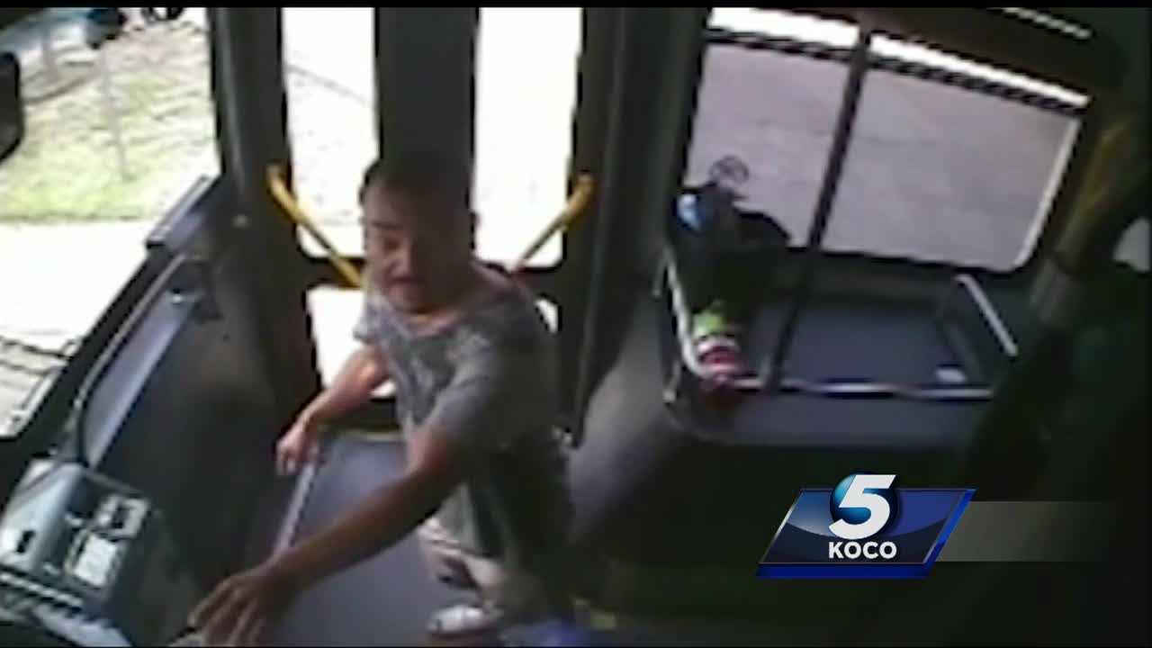 The family of the man killed during an officer-involved shooting on an Oklahoma City bus says he looked like a man who needed help but was met with force.