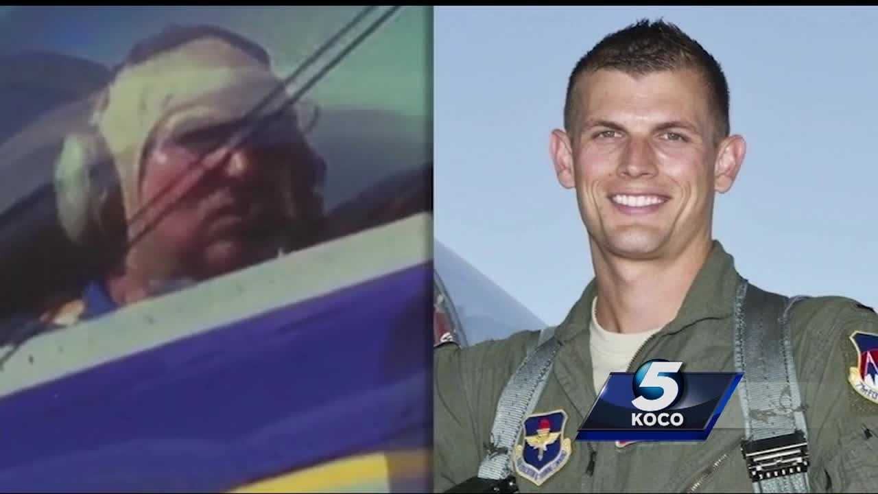 An air show will continue this weekend at Vance Air Force Base following the death of two people in a plane crash near Enid.