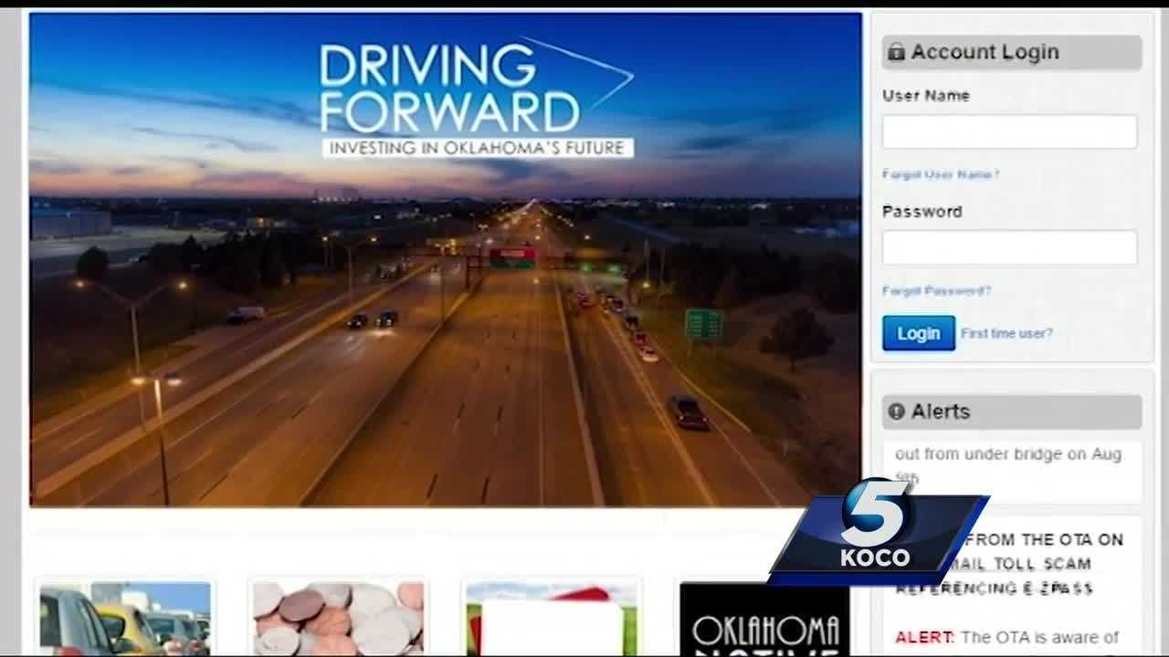 The Oklahoma Turnpike Authority is warning customers who use a particular third-party payment provider.