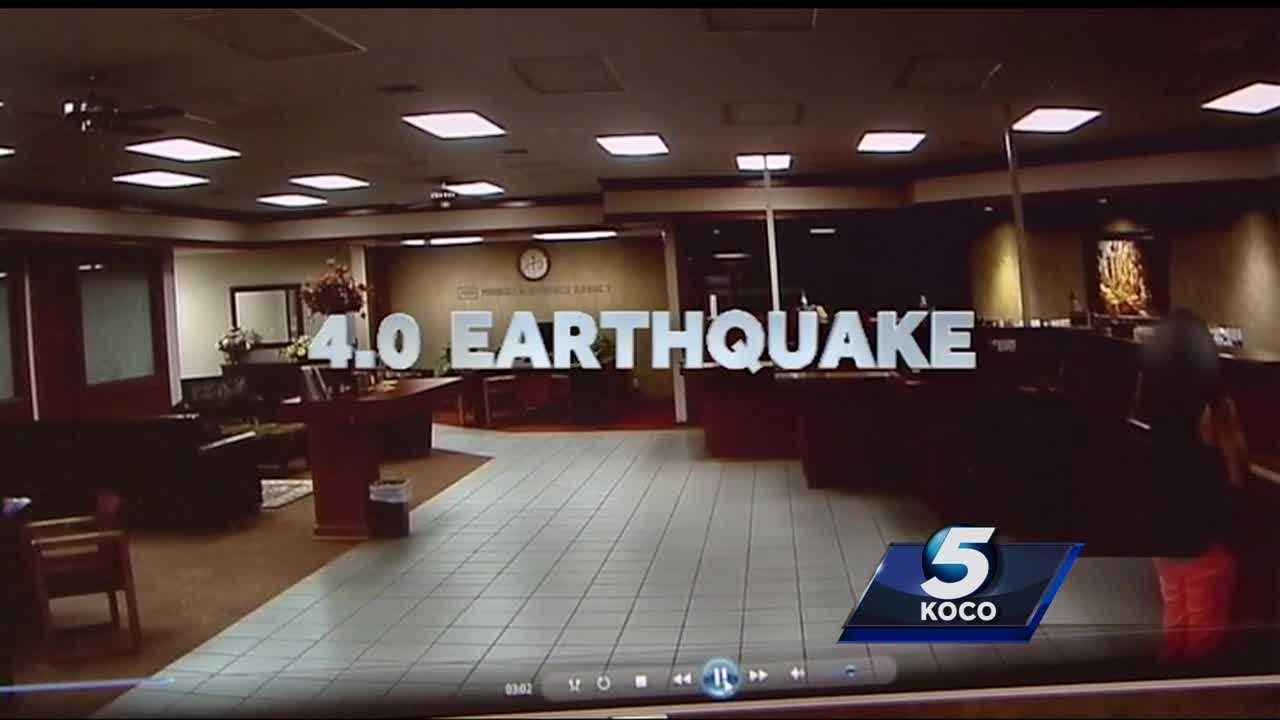 A sizable earthquake in central Oklahoma shook businesses Wednesday. It brings up concerns that new spots might be vulnerable to seismic shaking. The 4.0 quake shook near Luther before 9 a.m.