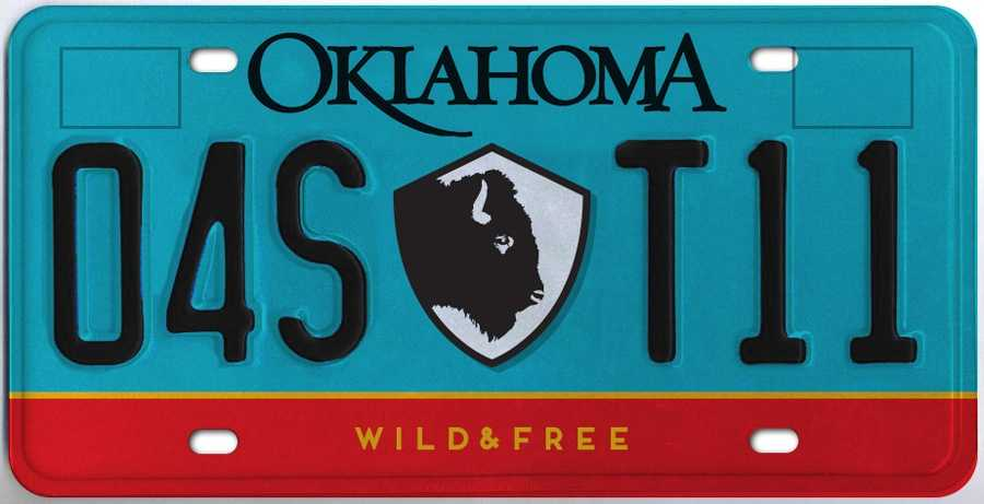 Voting is open for a new Oklahoma license plate being introduced that features the state mammal: The American bison. Click here to vote.