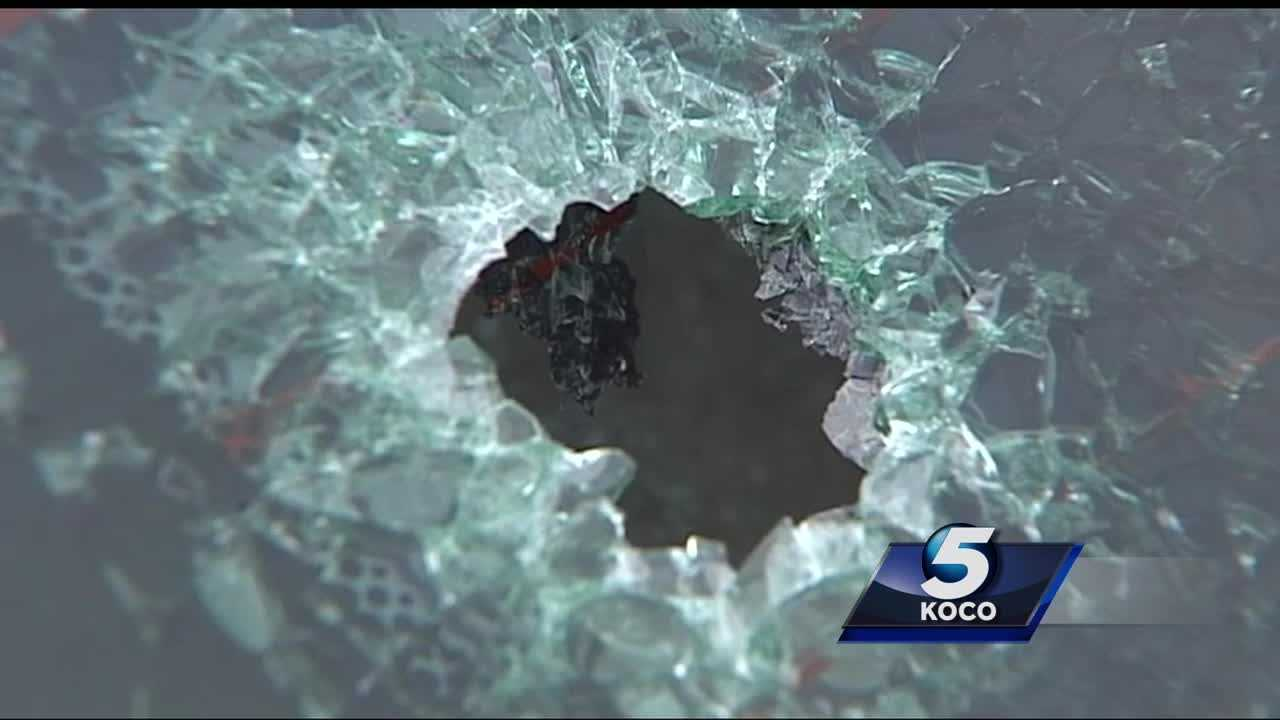 An Oklahoma City woman spoke with KOCO 5 after she was shot seven times over the weekend while in her car near Northwest 36th Street and Westminster Road in Spencer. Officials said the shooter fired about 50 rounds into her car.