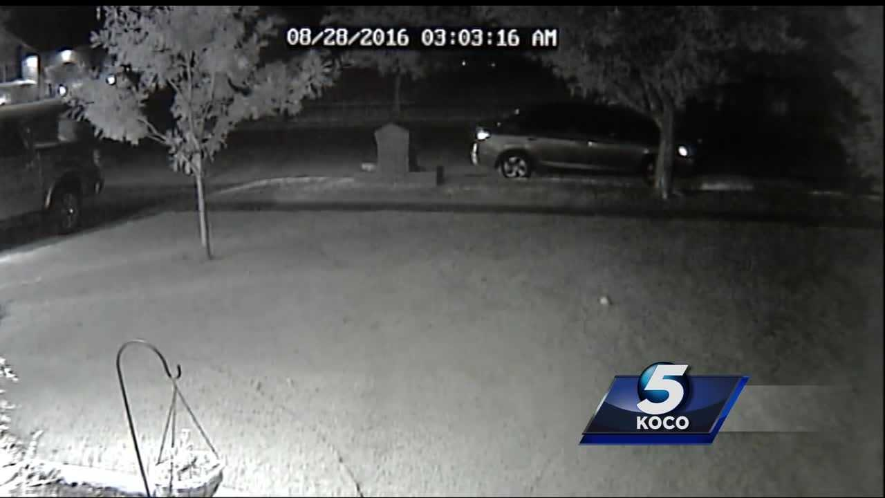 Kids were caught on camera rifling through vehicles in a Norman neighborhood. Police say they stole two guns.