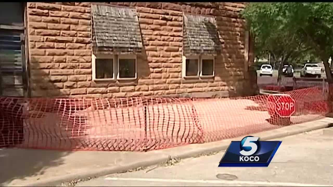 Pawnee officials continue to assess the damage while residents continue its repairs after Saturday's 5.6-magnitude earthquake.
