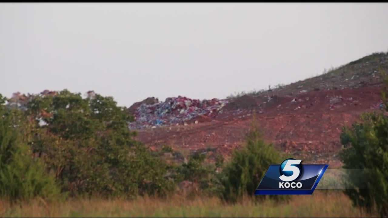A Prague rancher spoke with KOCO 5 about how he is concerned for his family's and livestock's wellbeing because he says trash containing medical waste was left in a nearby landfill without being treated.