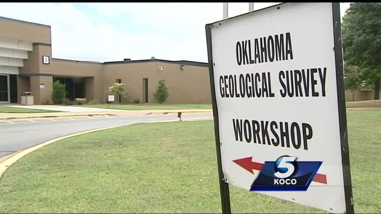 Researchers with the Oklahoma Geological Survey and The U.S. Geological Survey met in Norman to study Oklahoma's recent earthquakes.