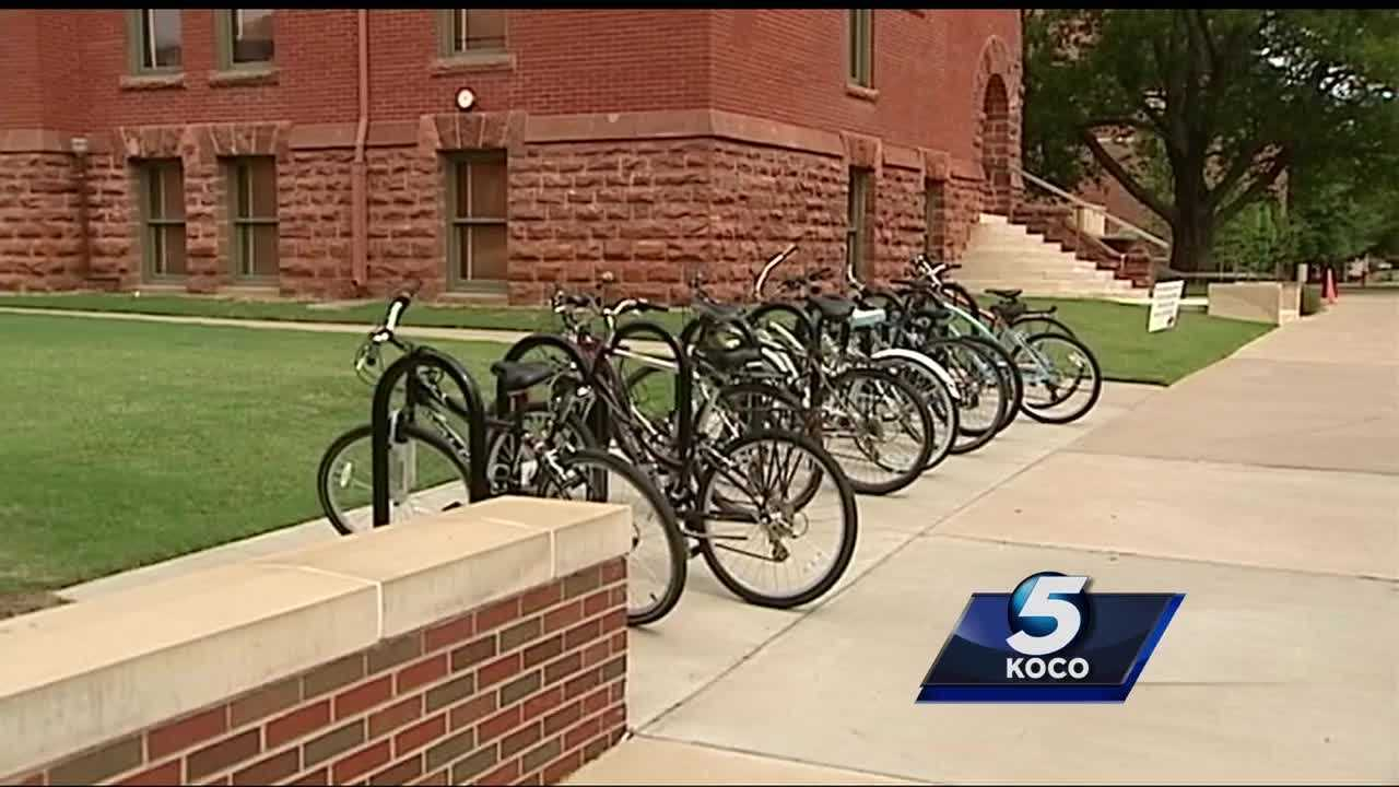 Police say 32 bikes have been stolen at Oklahoma State University in the last month.