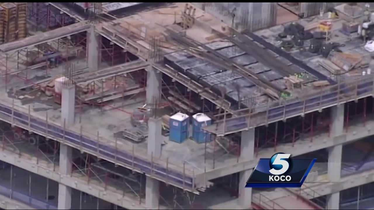 Workers are back on the job at a construction site in downtown Oklahoma City after a man drove a scissor lift off the 14th floor. KOCO's Kelsey Powerll has a look at the numbers on accidents happening at construction sites.