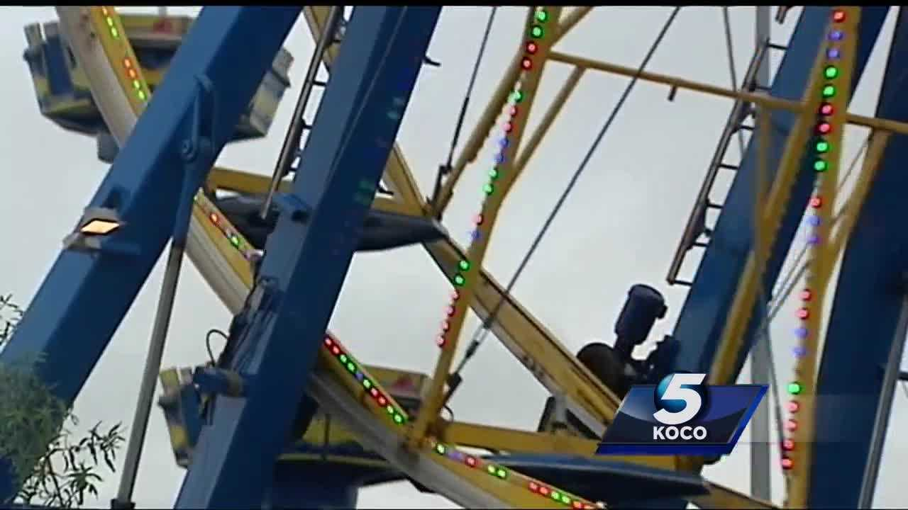 Operators at the Oklahoma State Fair have put the finishing touches on rides to make sure that you are safe when you ride them.