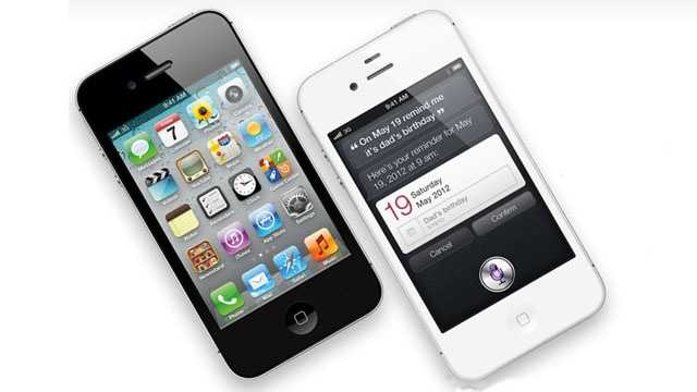 Apple iPhone 4S angled