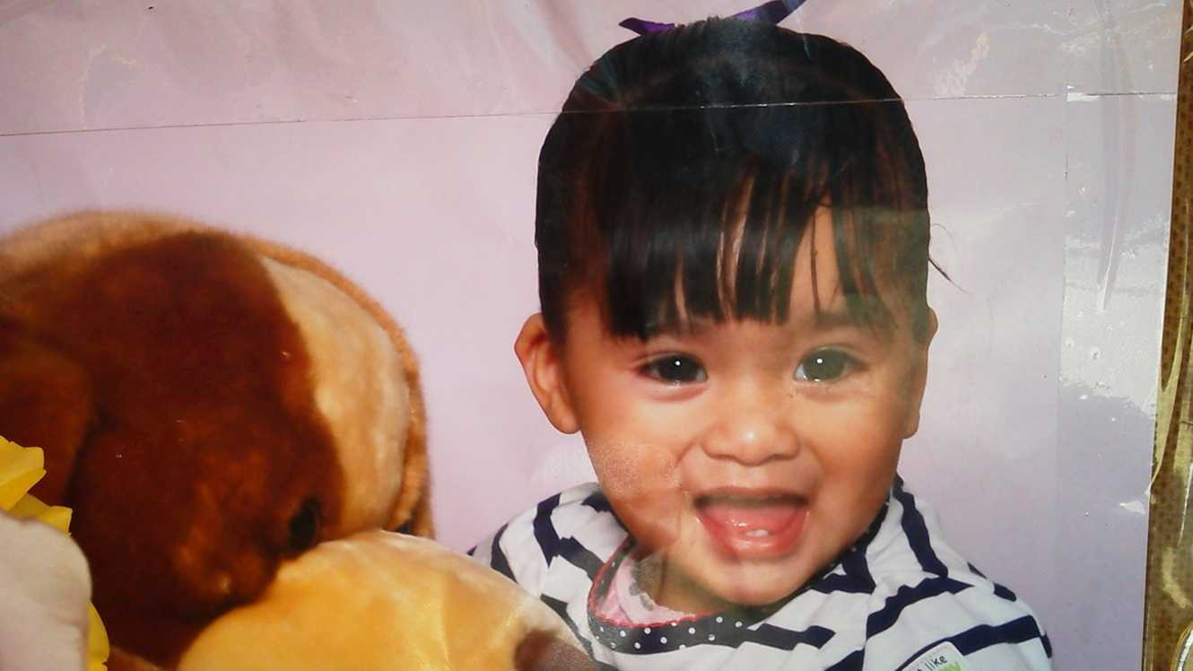 This baby girl was run over by a truck and killed in North Salinas on April 16, 2012.