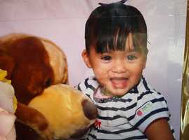 This baby girl was killed by a hit-and-run driver in North Salinas on Aug. 16, 2012. The driver was attempting to park a pickup truck on the street when the 18-month-old ran out of her house and into the truck's path.