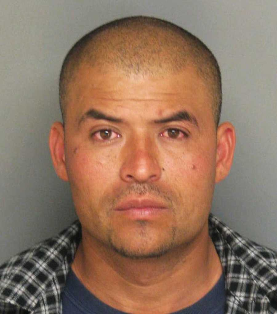 Jesus Gonzalez, 36, of Monterey, was arrested in a massive sweep on child sex predators living in Monterey County on April 25, 2012. Investigators searched 70 homes and arrested six convicted child sex offenders who violated their parole and probation terms.
