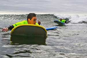The seventh annual event brings injured soldiers from the Brooke Army Medical Center in Texas to Santa Cruz.