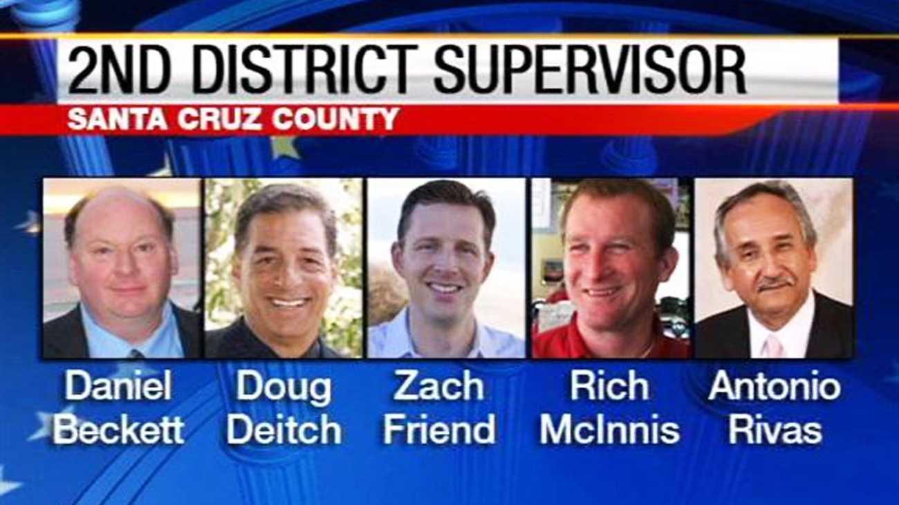 Santa Cruz County Supervisor District 2 candidates