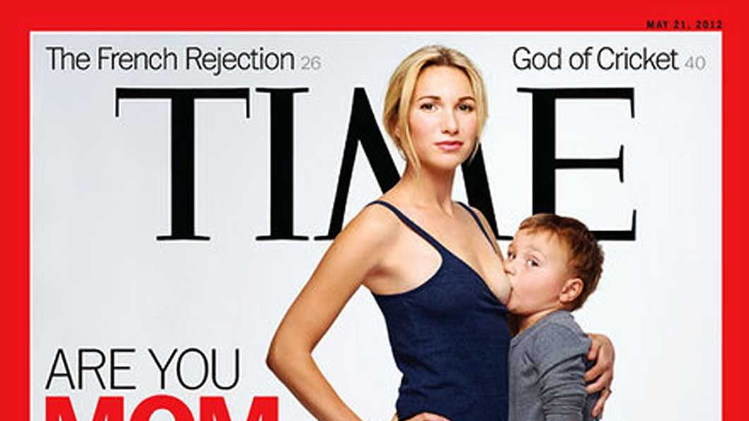 Time magazine's new cover is raising eyebrows.