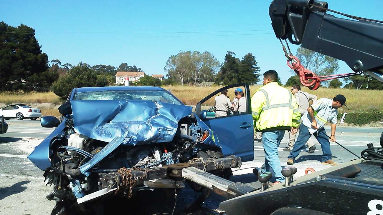Highway 101 crash  (May 16, 2012)