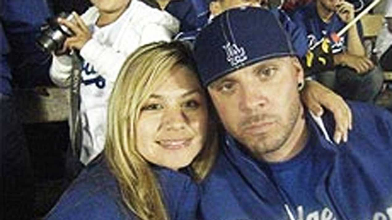 Marvin Norwood is seen with his fiancee Dorene Sanchez in a Facebook photo.