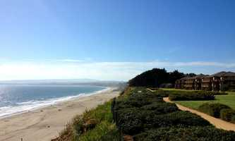 The group left Santa Cruz and went to the sprawling oceanfront luxury resort perched on cliff above Seascape Beach in Aptos. Sandoval and his accuser booked a room and spent the night together.