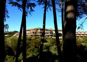 This is the Seascape Beach Resort, a luxury oceanfront hotel in Aptos where Sandoval spent the night with a 21-year-old Santa Cruz County woman.