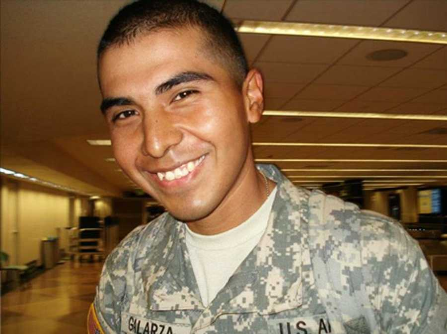 Army Spc. Vilmar Galarza Hernandez, 21, of Salinas, was killed while serving in Afghanistan on May 26, 2012.