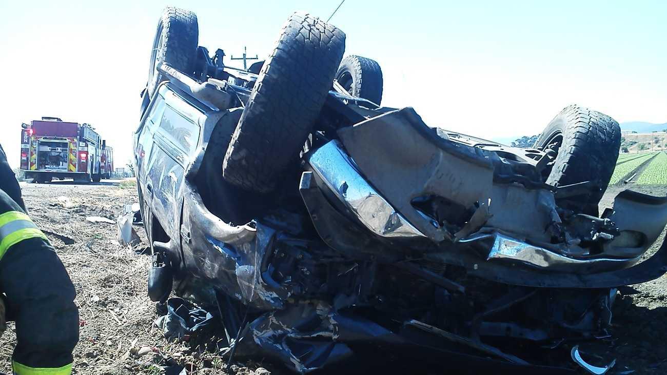 Hollister Highway 25 crash (June 13, 2012)