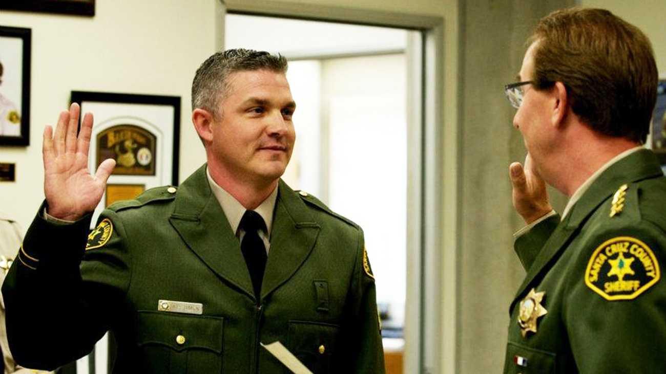 Santa Cruz County Sheriff's Sgt. Patrick Dimick
