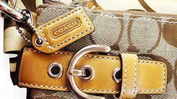 Monterey County Sheriff's Deputy Jason Smith said he found a stash of stolen Coach purses inside the SUV.