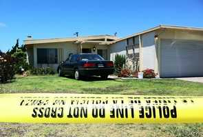 One of the two homicides happened inside this house on the 1400 block of Teton Avenue in Salinas, police said. Juan Carlos Franco Hernandez, 26, of Salinas, was shot to death.
