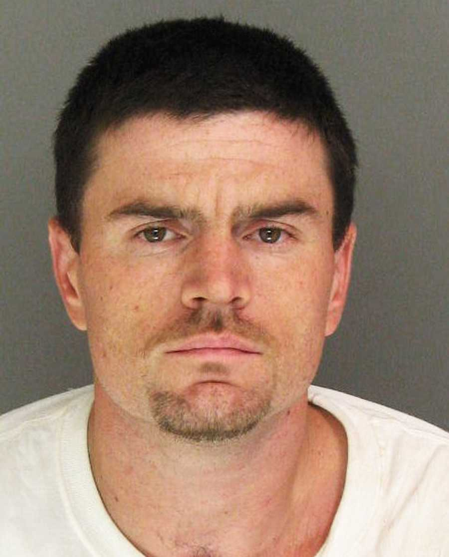 Jacob Hill, 26, of Scotts Valley, was arrested on July 15 on suspicion of stealing a car.