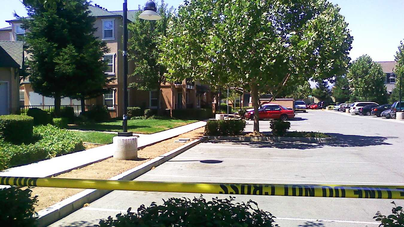 A homicide happened near this Gilroy apartment complex on Monterey Road Sunday, police said.